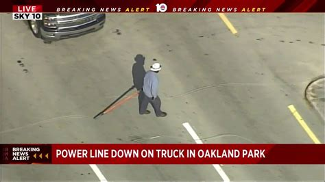 fpl reports power outage  oakland park
