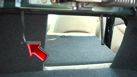 nissan altima folding   rear seats youtube