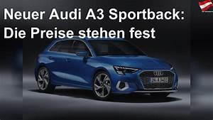 Neuer Audi A3 Sportback  Die Preise Stehen Fest