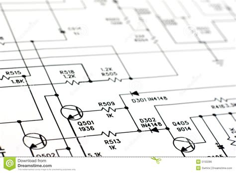 Schematic Diagram Stock Photo Image Engineering
