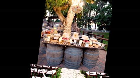 outdoor country wedding decor ideas youtube