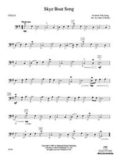 Skye Boat Song Viola Sheet Music by Skye Boat Song 3rd Violin Viola Tc Alfred