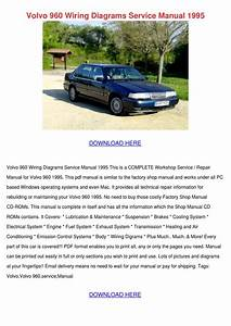 Volvo 960 Wiring Diagrams Service Manual 1995 By
