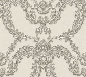 Tapete Ornamente Silber : vlies tapete ornamente floral creme silber ap luxury classics 34777 4 6 74 1qm 4051315335611 ~ Sanjose-hotels-ca.com Haus und Dekorationen