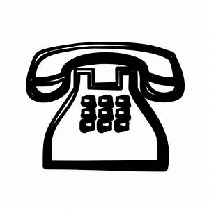 Traditional Clear Telephone (Phone) Icon #115095 » Icons Etc