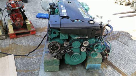 volvo penta    hp marine diesel engine youtube