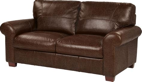 Chocolate Brown Leather Sofa Tesco Ledbury Medium 2 Seater