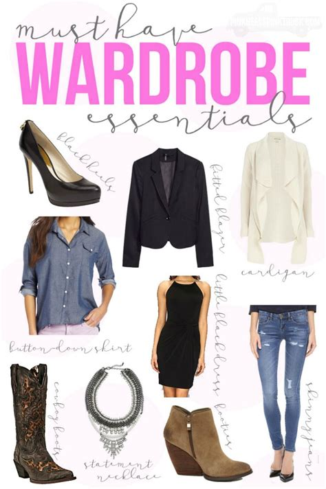 Must Haves In Your Closet by Fashion Must Wardrobe Essentials Bradford