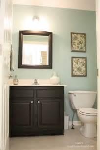 small powder room wall color bathroom decor