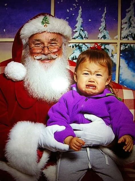 #10DaysTo2016: 28 Santa pictures with crying babies will ...