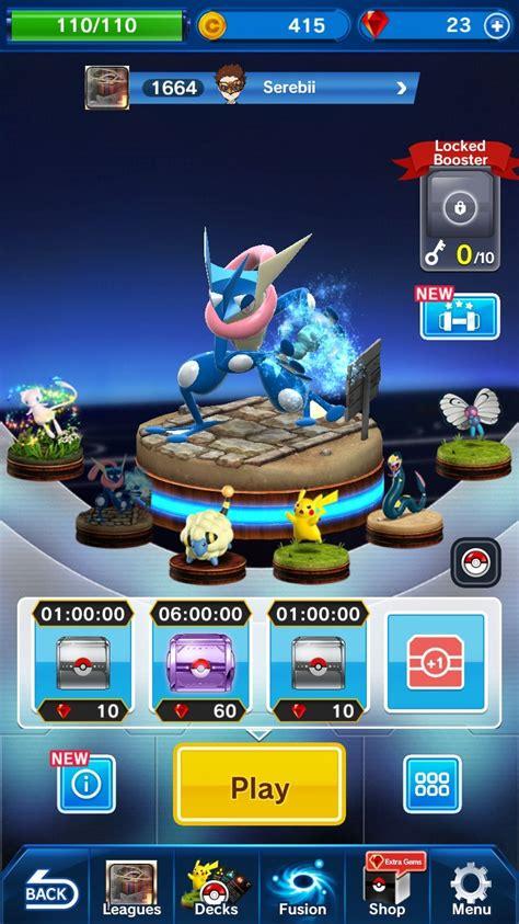 pokemon duel nintendo mobile game profile news