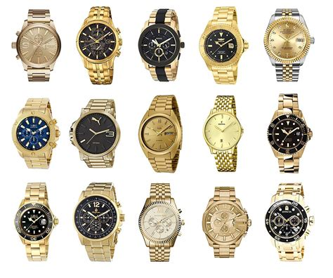 uhren herren gold herrenuhren gold die besten goldenen armbanduhren f 252 r m 228 nner