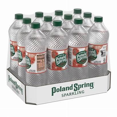 Poland Spring Water Sparkling Deer Liter Grapefruit
