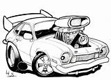 Rod Drawing Drawings Cars Rat Coloring Cartoon Truck Pages Sketches Trucks Amazing Rods Tattoo Colouring Foose Chip Chevy Clipartmag Automotive sketch template
