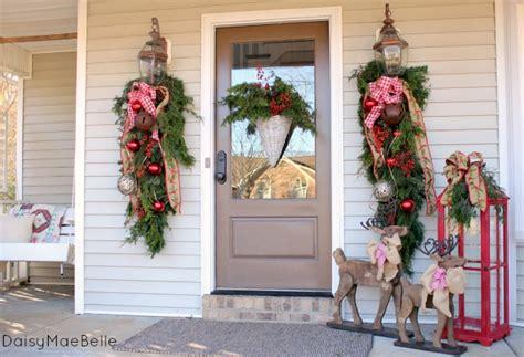 Christmas Front Porch  Daisymaebelle Daisymaebelle