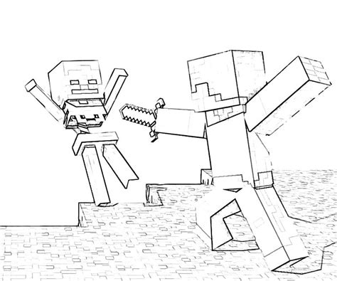 minecraft coloring pages coloringploofr