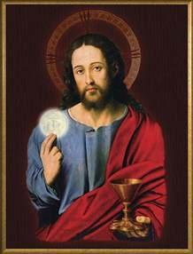 Jesus Holy Eucharist Catholic