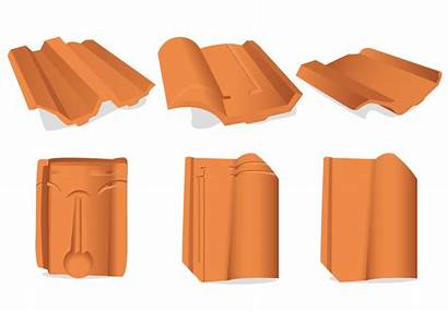 Clay Roof Tile Vector Pattern Clipart Tajine