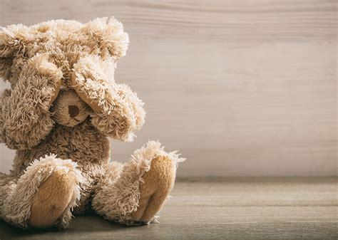 sad teddy bear reach  recovery