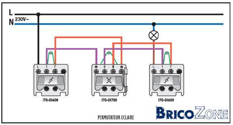 va et vient 3 interrupteurs 2 les remplacement interrupteur 4 fils et 3 trous