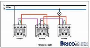 Interrupteur Va Et Vient Legrand : branchement va et vient avec 3 interrupteurs ~ Melissatoandfro.com Idées de Décoration