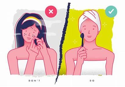 Skin Care Vector Illustration Treatment Terms Vecteezy
