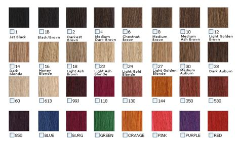 One N Only Hair Color Chart One N Only Argan Oil Color