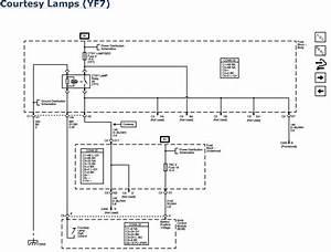 2001 Chevy Blazer Visor Vanity Lighting Wiring Diagram