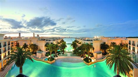 Landscape, Sea, Nature, House, Palm Trees