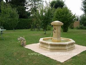 Fontaine De Jardin Jardiland : fabricant de fontaines centrales en pierre naturelle ~ Melissatoandfro.com Idées de Décoration