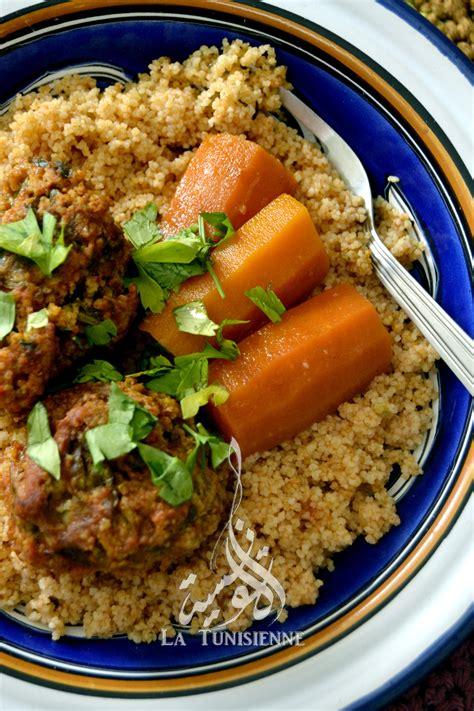 cuisine juive alg駻ienne couscous aux boulettes d aneth chebtiya