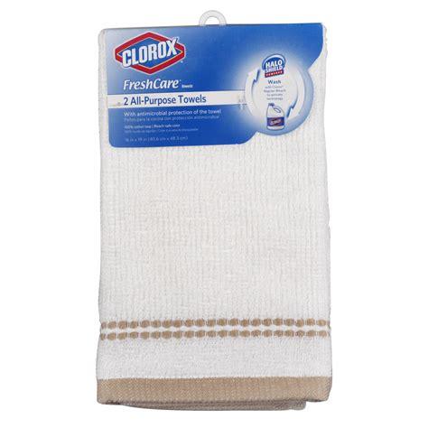 Clorox 2pack Kitchen Towels Natural