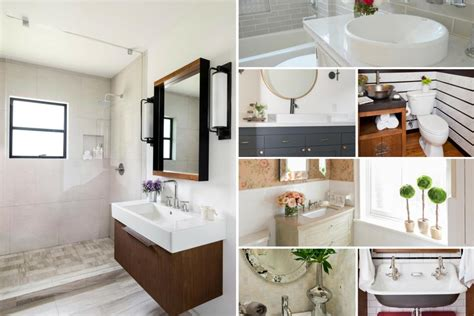Before And After Small Bathrooms by Before And After Bathroom Remodels On A Budget Hgtv