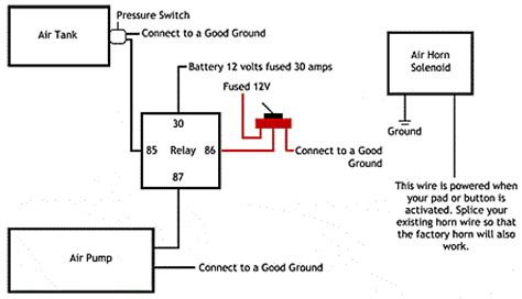 Magic 12 Volt Relay Wire Diagram by Installation Guide Horn Kits