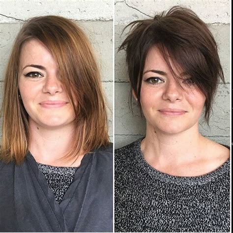 simple easy pixie haircuts   faces short