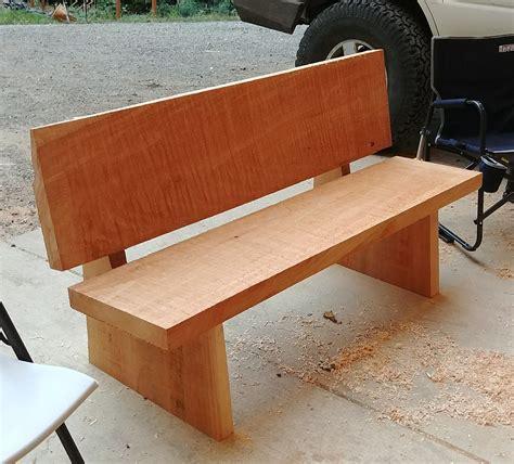 pin  texas vintage  diy cedar planks plank bench