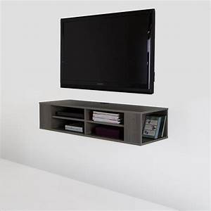south shore city life 48 inch wall mounted media console With 48 inch media cabinet