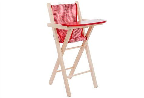 chaise haute poup 233 e bois et vichy apesanteur