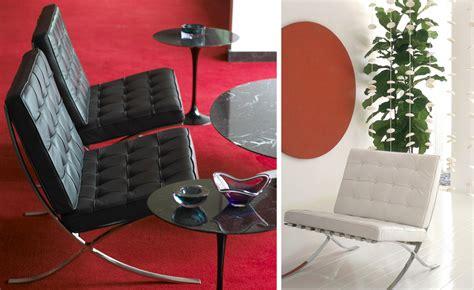 Barcelona Chair Chrome Plated