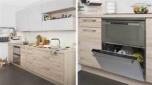 Meuble Cuisine Darty : charmant cuisine blanche plan travail bois 4 cuisines darty les nouveaux mod232les 2015 cgrio ~ Preciouscoupons.com Idées de Décoration