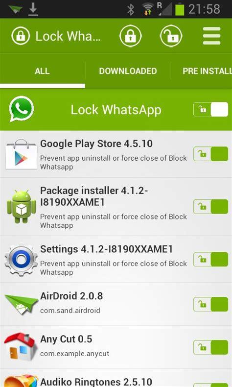 whatsapp lock android app free apk by kiwiio