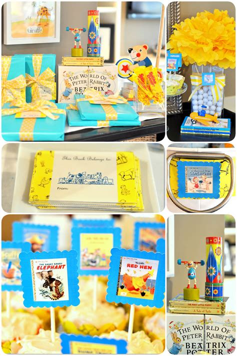 golden books baby shower  printables pizzazzerie