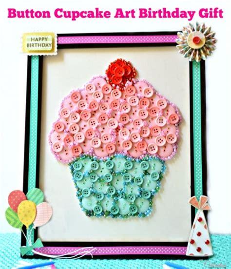 button cupcake art birthday gift   celebration