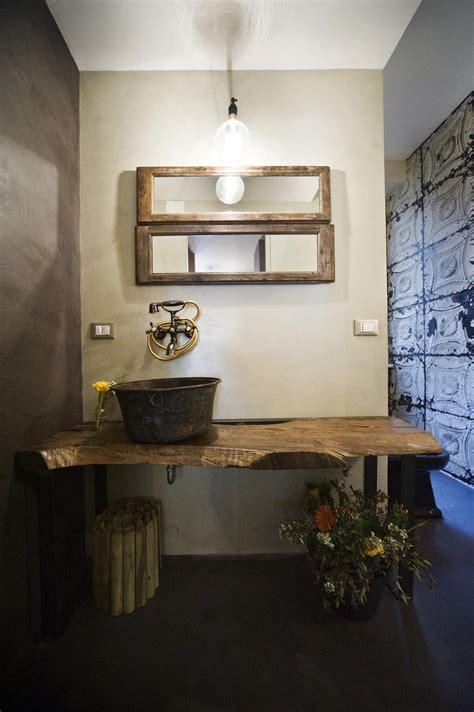 lade da bagno a parete bagno con finiture cemento o effetto cemento cose di casa