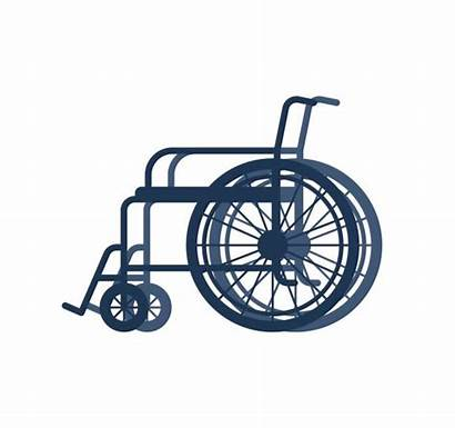 Vector Wheelchair Disabled Race Background Clip Isolated