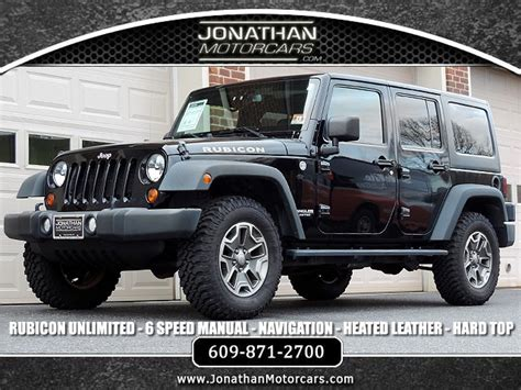 jeep wrangler unlimited rubicon stock