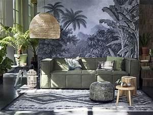 HK Living Wicker Pendant Lamp 80cm HK Living Petite