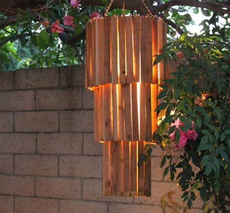 outdoor rustic chandelier  easy diy   spot