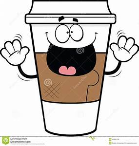 Coffee clipart cartoon - Pencil and in color coffee ...