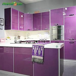 aliexpresscom buy modern vinyl diy decorative film pvc With kitchen cabinets lowes with vinyl sticker material